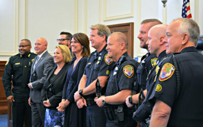 SAO Recognizes Law Enforcement with OLEO Awards
